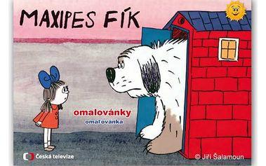 Omalovánky - Maxipes Fík - dodání do 2 dnů