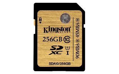 Kingston SDXC Ultimate 256GB Class 10 UHS-I - SDA10/256GB