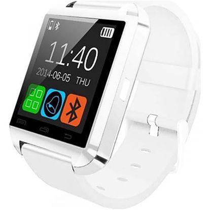 Chytré bluetooth hodinky - bílá - dodání do 2 dnů