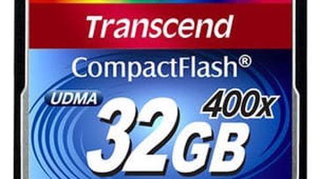 Transcend CompactFlash 400x 32GB - TS32GCF400