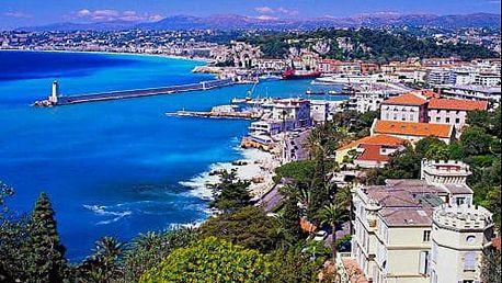 Zájezd na 5 dnů do jižní Francie. Provence, Azurové pobřeží a koupání v Nice s ubytováním