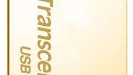 Transcend JetFlash 710 64GB, zlatá - TS64GJF710G