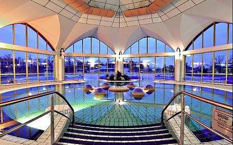 Neomezený wellness pobyt v 4 * hotelu v pohádkovém prostředí lázní Sárvár