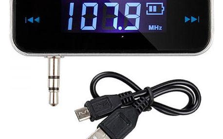 FM transmitter s 3.5 mm jackem