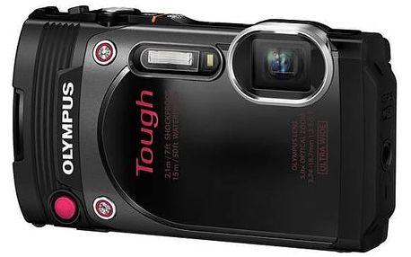 Digitální fotoaparát Olympus TG-870 černý + Doprava zdarma