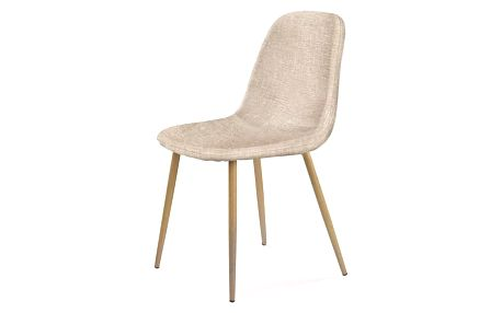 Jídelní židle K220 tmavě krémová