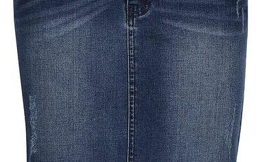 Tmavě modrá džínová sukně ONLY Jessica
