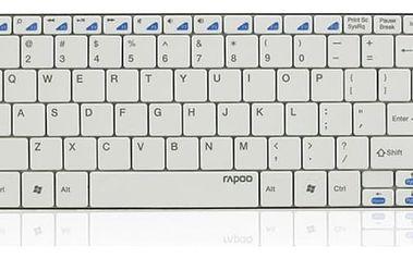 Rapoo E6100 Ultra-slim bílá CZ