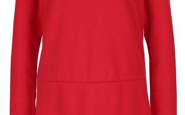 Červené šaty s dlouhým rukávem ONLY Sport
