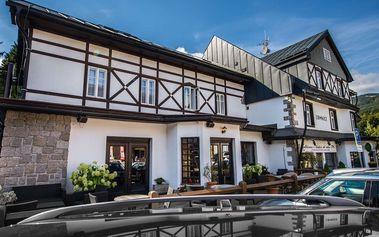 Hotel Lomnice *** ve Špindlerově Mlýně s polopenzí, děti zdarma