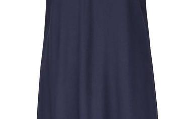Tmavě modré šaty s krajkovými detaily VILA Tiya