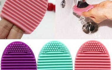 Silikonový čistič štětců na make-up