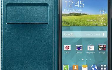 Samsung pouzdro s kapsou pro Samsung Galaxy S5, zelená
