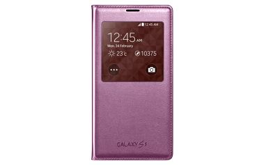 Samsung pouzdro S-View pro Samsung Galaxy S5, růžová