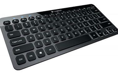 Logitech K810 klávesnice bezdrátová podsvícená ,US