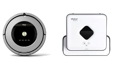 iRobot Roomba 886 + iRobot Braava 390