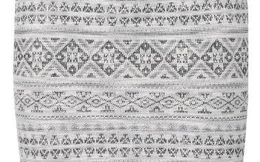 Černo-krémová vzorovaná sukně VERO MODA Tiggy