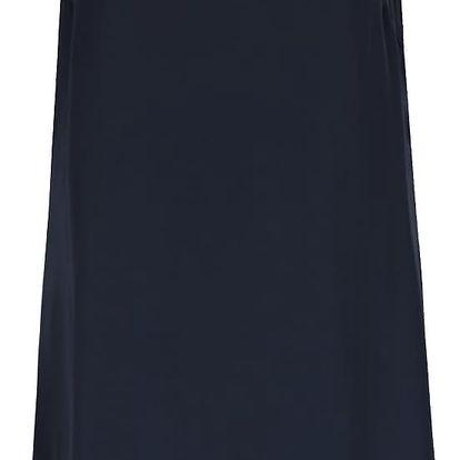Tmavě modré šaty bez rukávů s detaily VILA Blingers