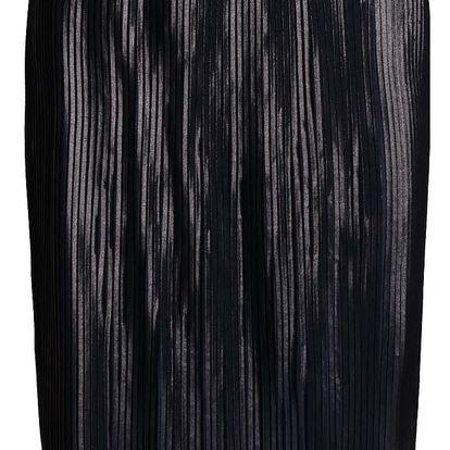 Tmavě modrá plisovaná sukně VERO MODA Plea