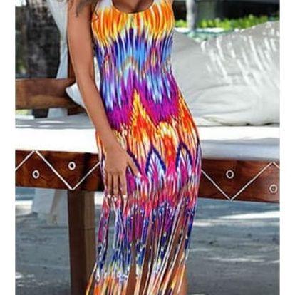 Letní šaty s třásněmi Paradise