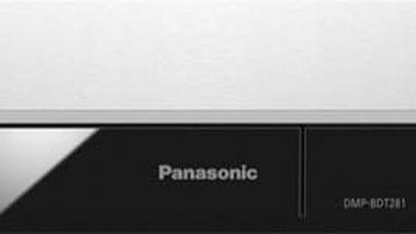 Panasonic DMP-BDT281EG, stříbrný