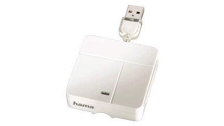 Hama Čtečka All in One Multi-Card Reader, Basic, bílá