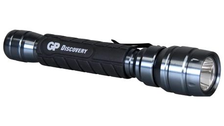 LED svítilna GP LOE102 + 2 x AA baterie GP Ultra