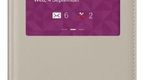 Samsung pouzdro S-View pro Samsung Galaxy Note 3, béžová