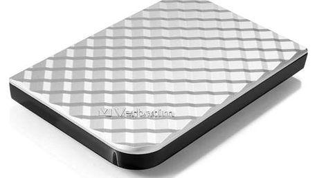 """Externí pevný disk 2,5"""" Verbatim 1,75TB (53209) stříbrný + Doprava zdarma"""