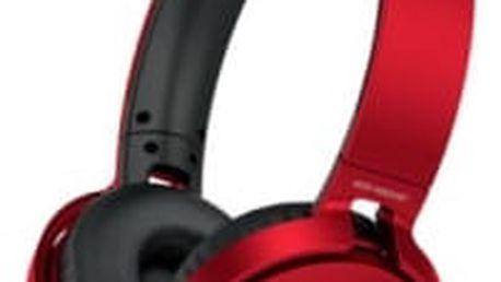 Sony MDR-XB650BT Red