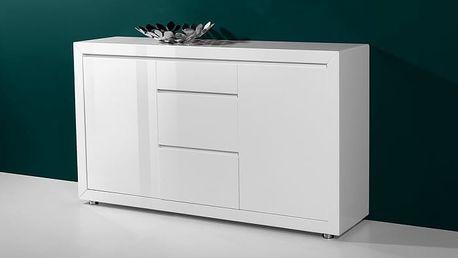 GW-Fino - Skříňka,2x dveře,3x šuplík (bílá)