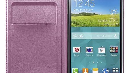 Samsung pouzdro s kapsou pro Samsung Galaxy S5, růžová