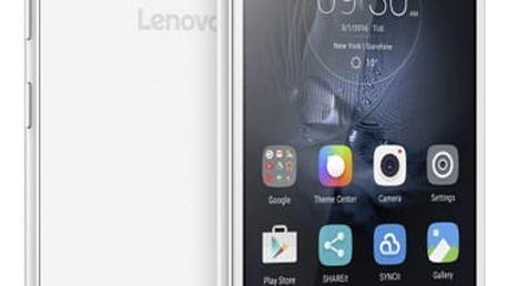 Lenovo Vibe S1 Lite Dual SIM LTE bílý