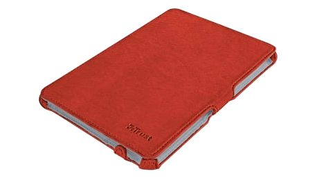 Trust Stile Hardcover Skin & Folio Stand for iPad mini - red
