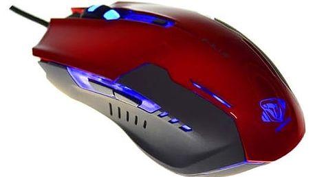 E-Blue Myš Auroza G, červená