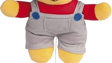 CANPOL Babies Plyšová hrající skříňka medvídek s červenou čepičkou - kluk