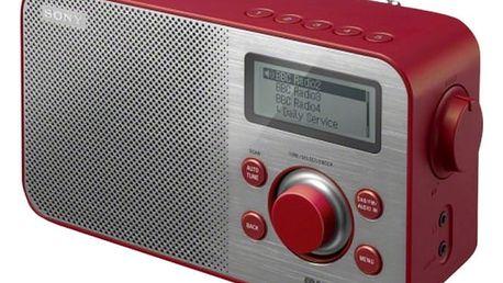 Sony XDR-S60DBP (červené)