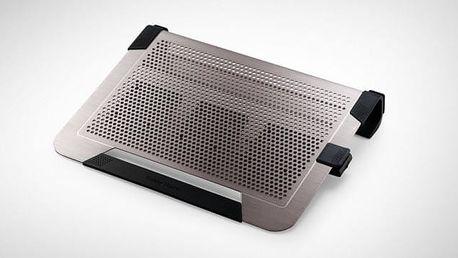 Cooler Master ALU NotePal U3 Plus, stříbrná