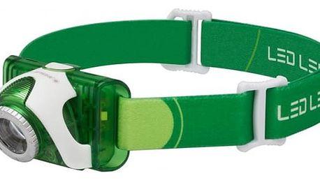 LEDLENSER SEO 3 zelená