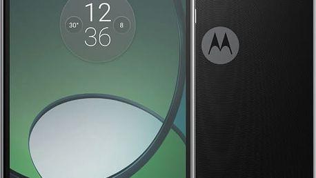 Lenovo Moto Z Play - 32GB, LTE, černá - SM4443AE7N6 + Zdarma inCharge USB-C, červený (v ceně 349,-)