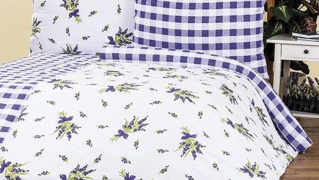 4Home Bavlněné povlečení Provence, 140 x 220 cm, 70 x 90 cm