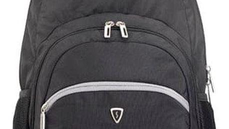 """SUMDEX batoh na notebook 15,6"""" PON-389BK černý sportovní"""