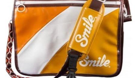 Smile brašna na fotoaparát, 70,s Style L, oranžová, 16508