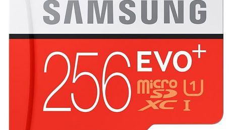 Samsung EVO Plus microSDXC 256GB + adaptér, MB-MC256DA/EU