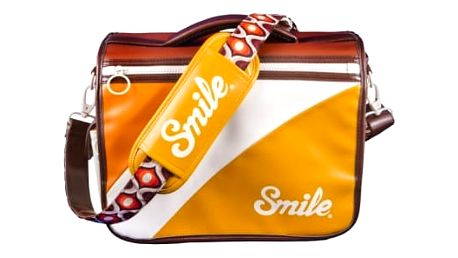 Smile brašna na fotoaparát, 70,s Style M, oranžová, 16505