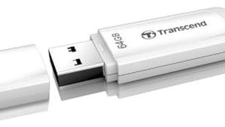 Transcend JetFlash 370 64GB bílý