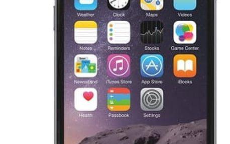 Bigben zadní + přední kryt na iPhone 6/6s Quicksilver, černá
