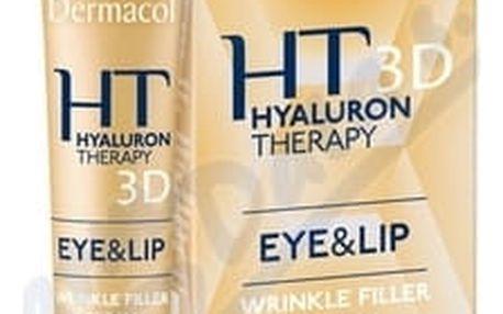 Dermacol Hyaluron Therapy 3D krém na oči+rty 15ml