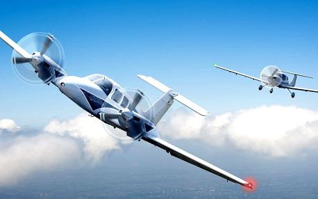 Pilotování letadla na zkoušku nebo vyhlídkový let se Sky Academy z letiště Příbram