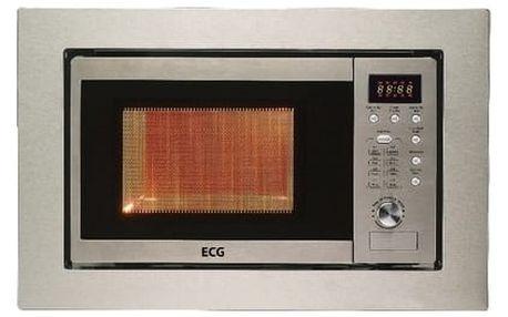 Vestavná mikrovlnná trouba ECG MTD 206 VSS